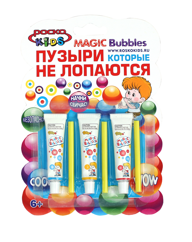 Magic Bubbles - пузыри, которые не лопаются